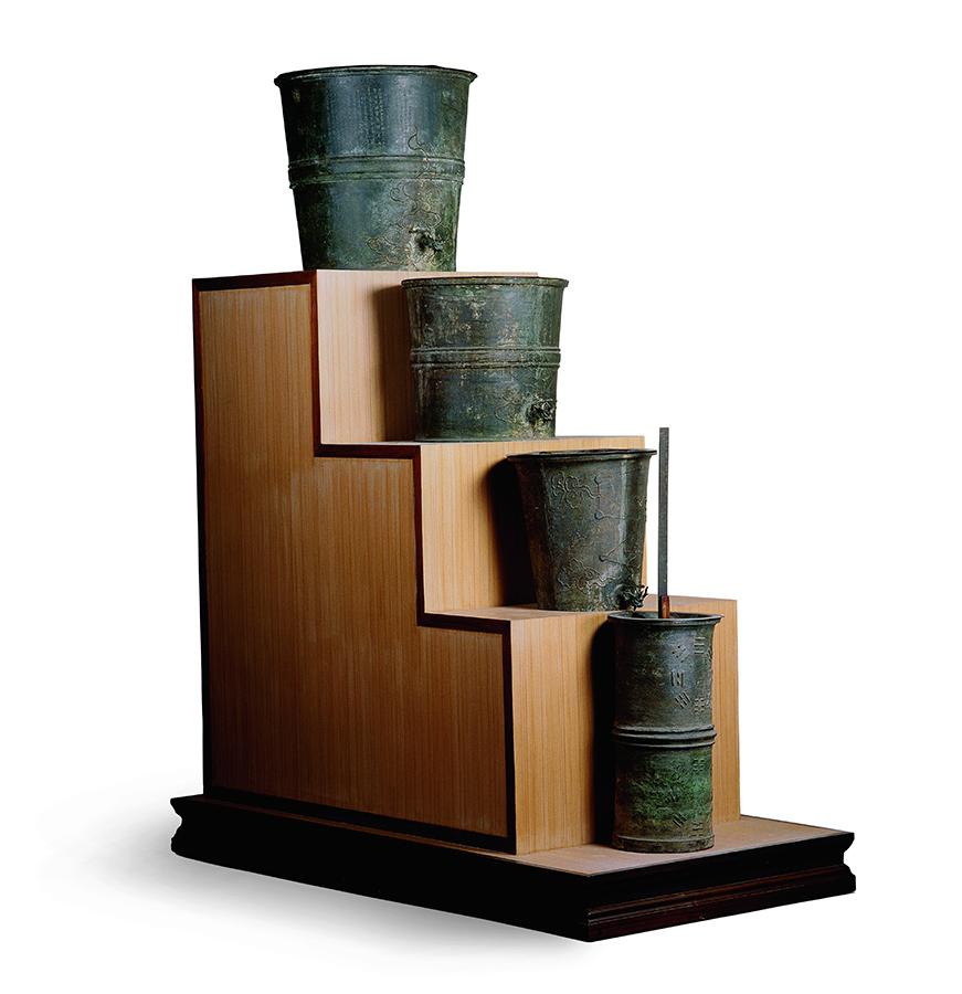 古代的铜壶滴漏用于干什么的